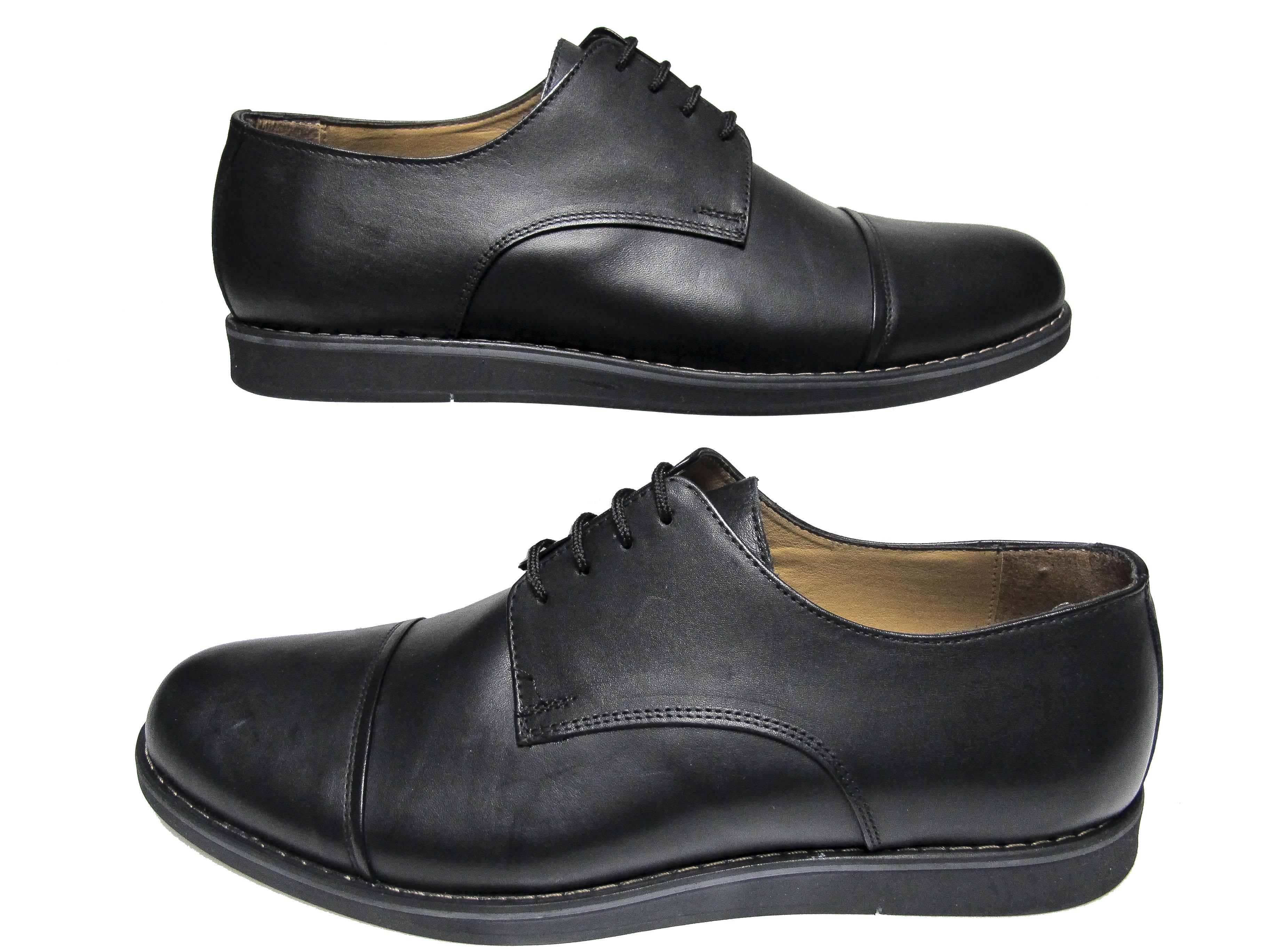 760554f4dfb Мъжки обувки- Гигант естествена кожа черни 150-6611 | Гигант мъжки ...