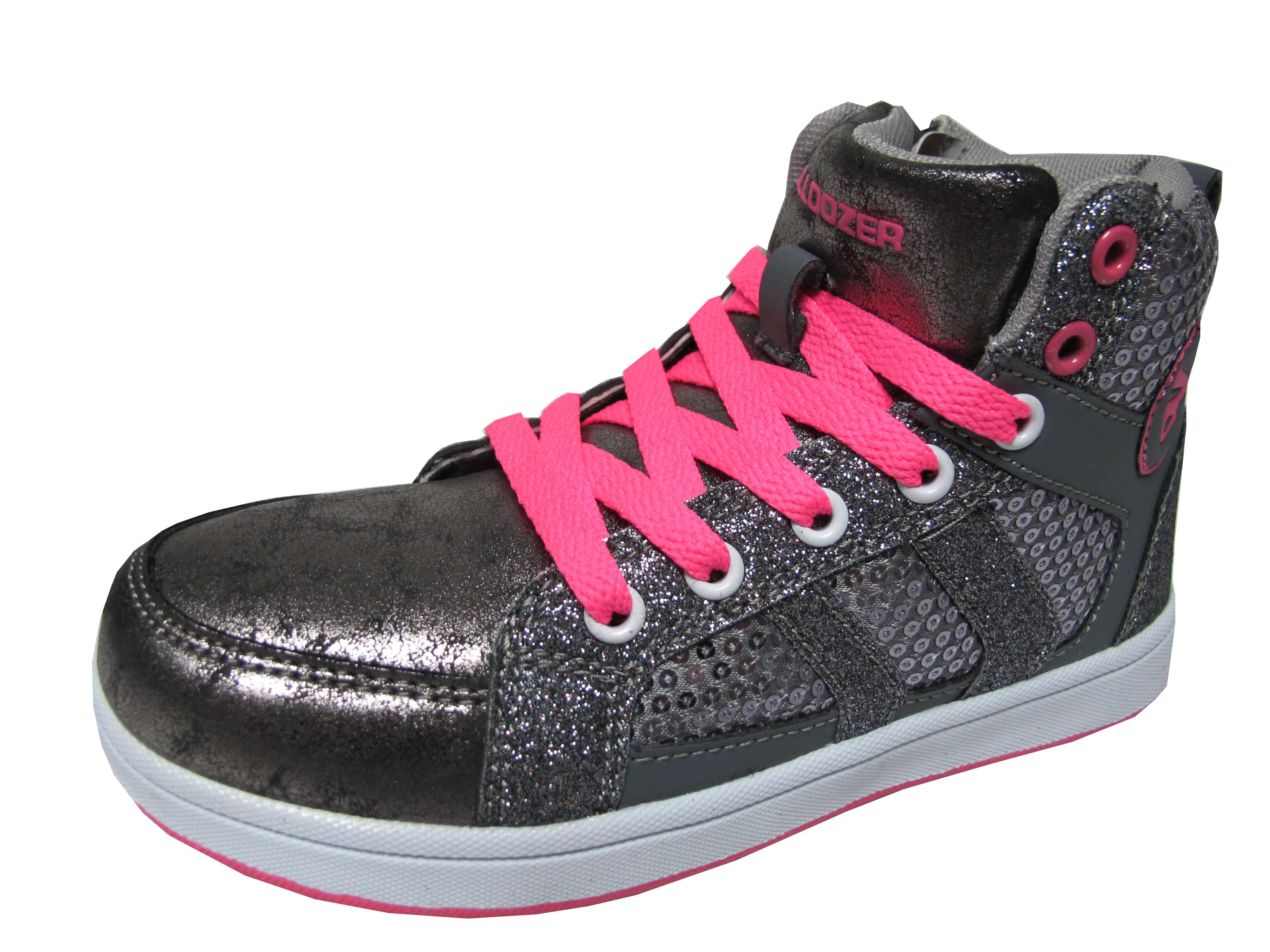 06451e65d4d Детски обувки Bulldozer еко кожа сиви 156-1688 | Детски обувки за ...