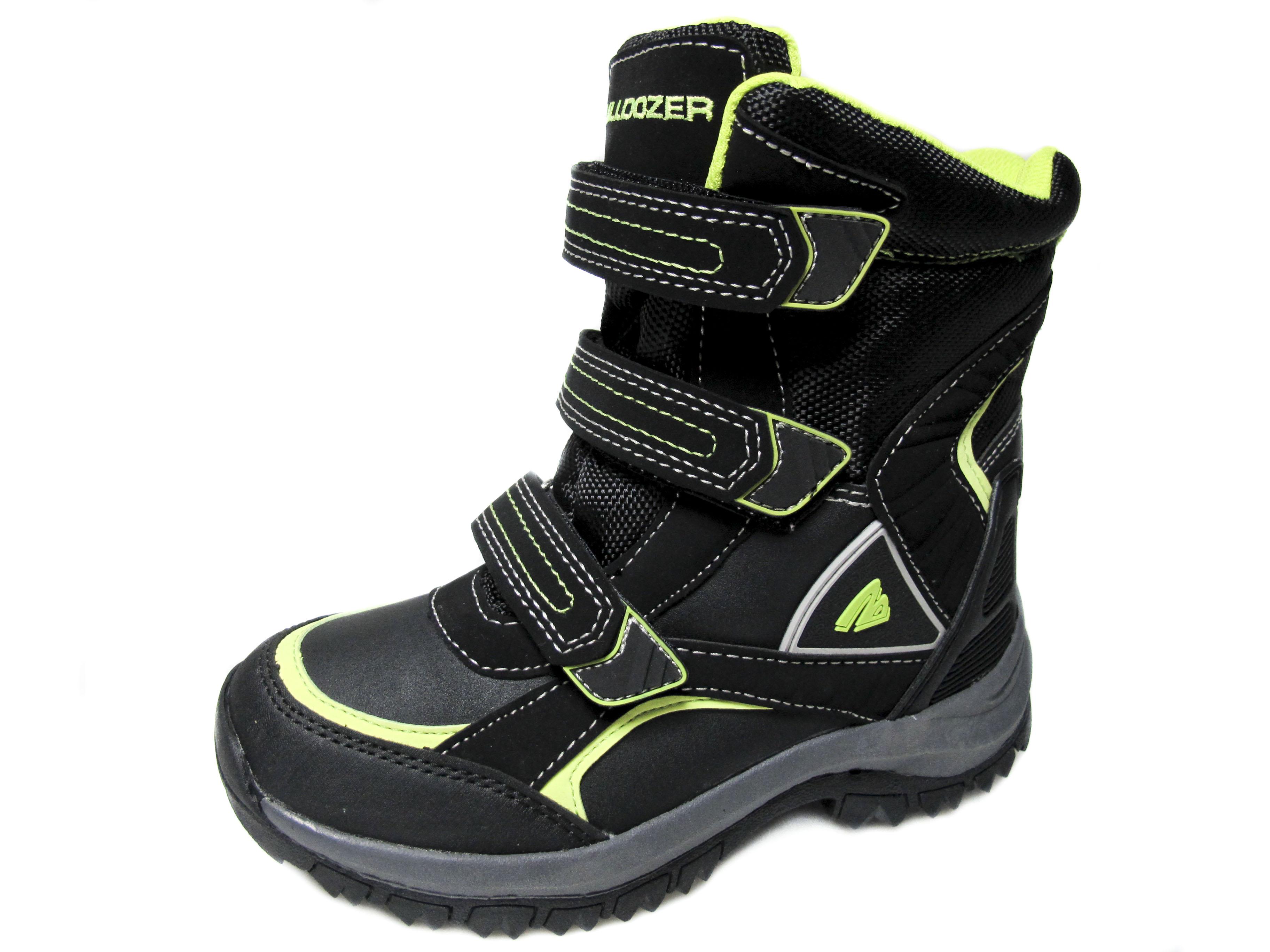 fe89a6e047a Детски зимни боти Bulldozer еко кожа 158-4455 | Детски обувки за ...