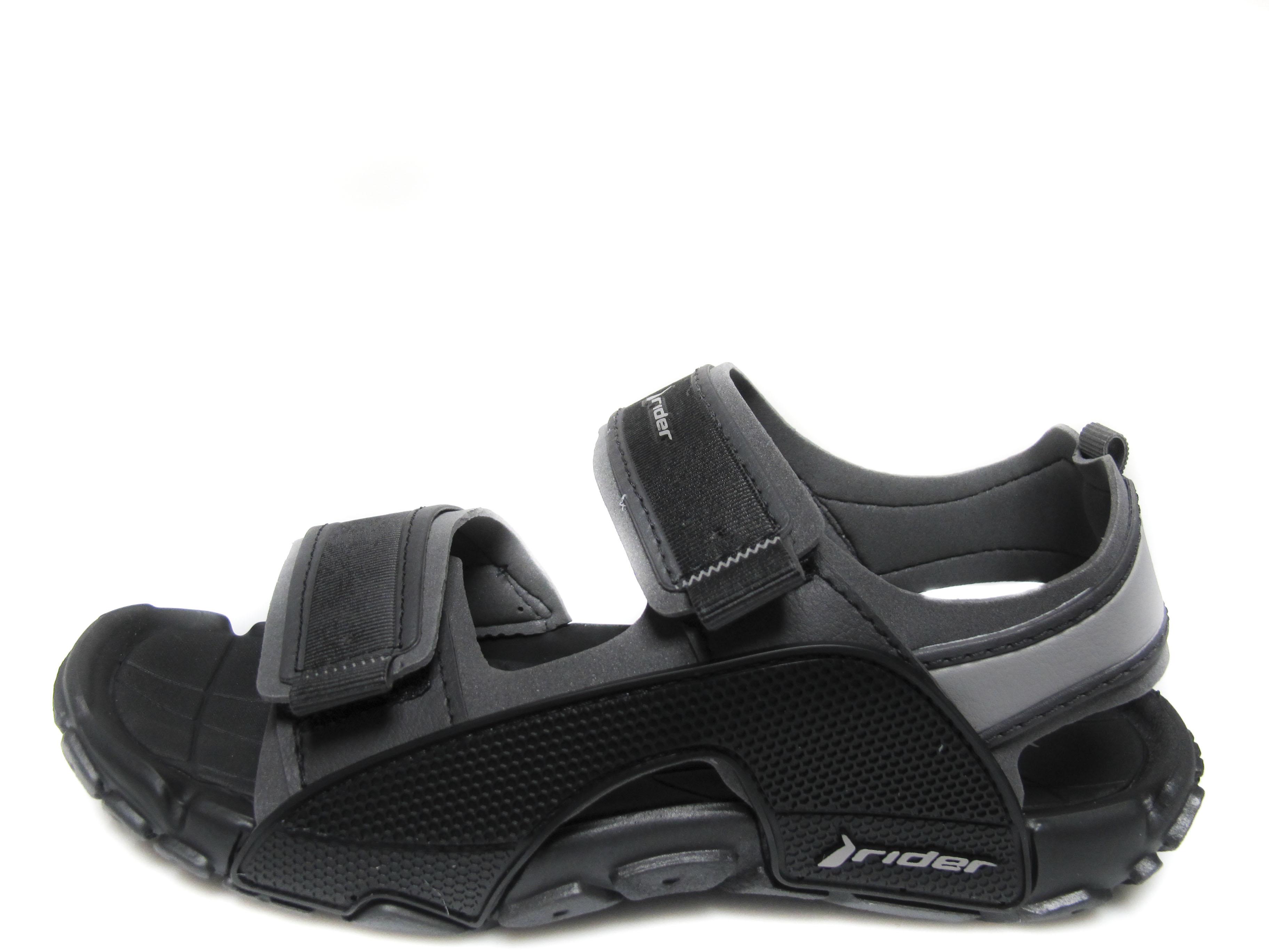 0f0f15db0b0 Мъжки сандали Rider силикони ликра черни 81149-21727 | Чехли и ...