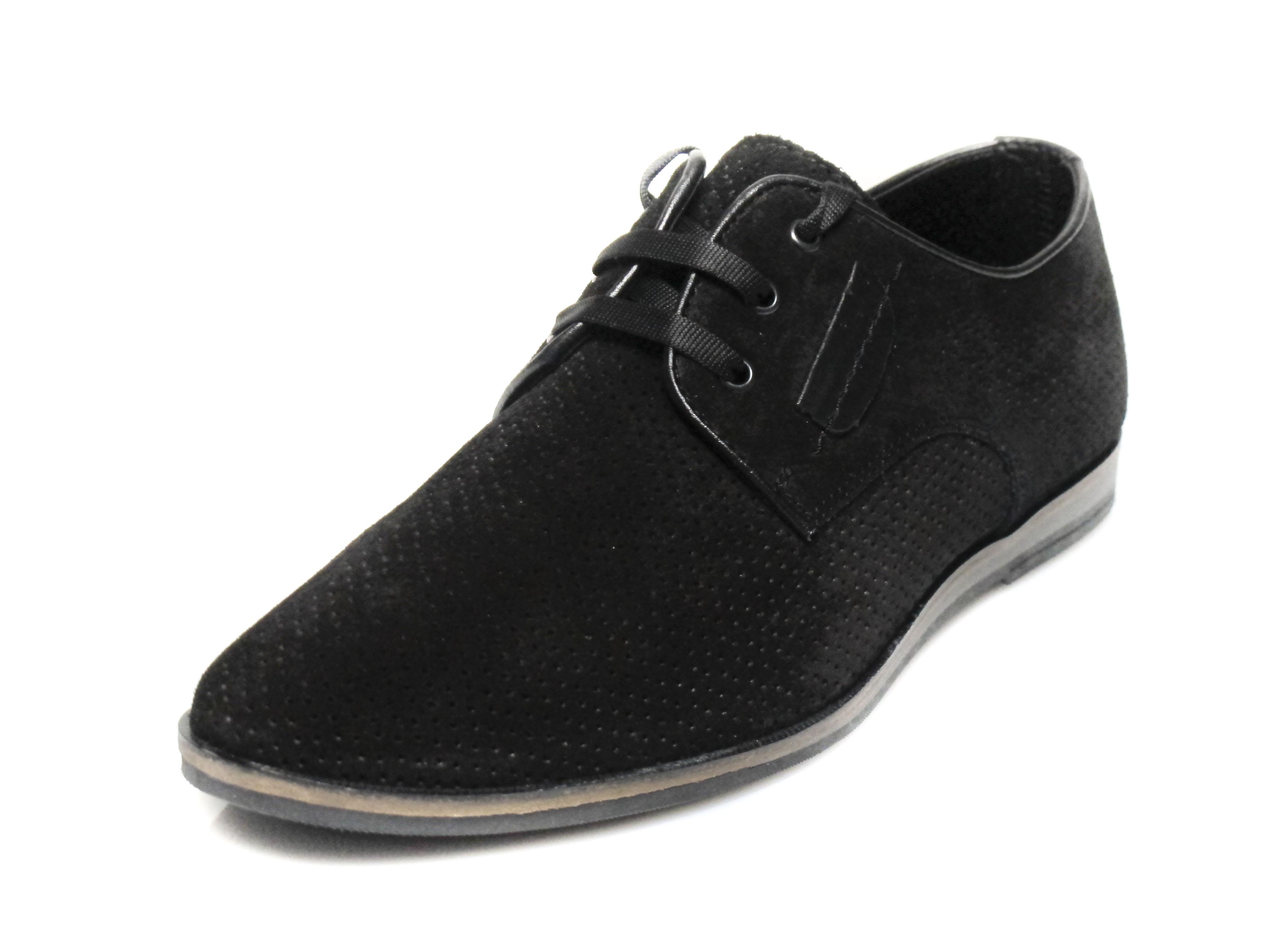 be62768f1c2 Мъжки обувки естествен велур 127-8787 | Спортно елегантни обувки онлайн
