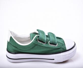 Детски гуменки  зелени 3