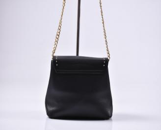 Дамска чанта еко кожа черна 3
