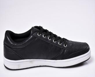 Мъжки спортни  обувки  черни 3