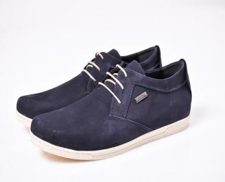 Мъжки спортни  обувки  набук сини