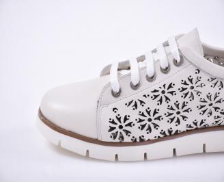 Дамски обувки Гигант естествена кожа бежови