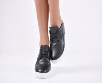 Дамски  обувки  еко кожа черни