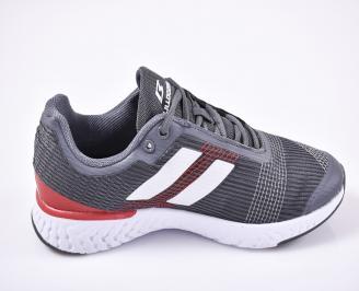 Мъжки маратонки  сиви 3