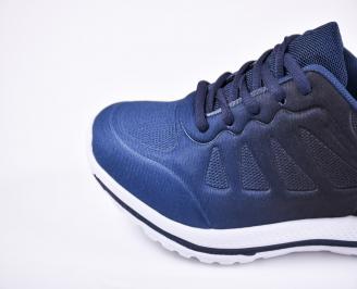 Юношески  маратонки   текстил сини