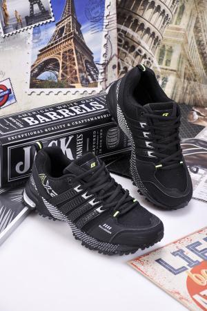 Юношески  маратонки   текстил черни