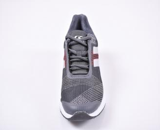 Юношески  маратонки   текстил сиви