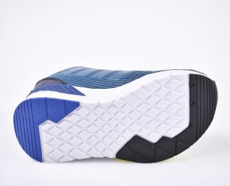Мъжки маратонки текстил сини
