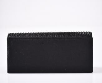 Абитуриентска чанта сатен черна
