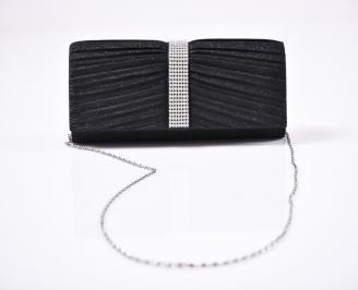 Абитуриентска чанта текстил черна