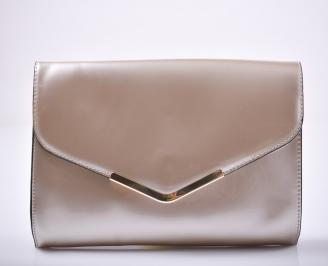 Абитуриентска чанта еко кожа бежова