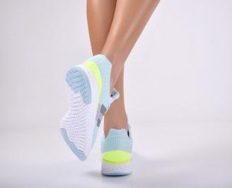 Дамски спортни обувки  сини