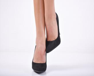 Дамски елегантни обувки  черни
