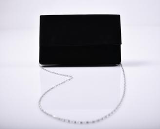Абитуриентска чанта набук черна