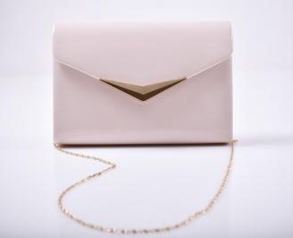 Абитуриентска чанта еко кожа /лак пудра