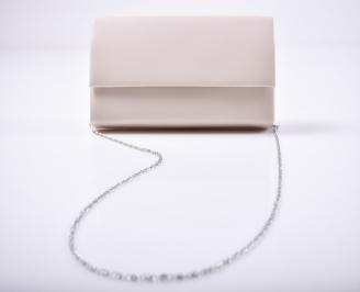 Абитуриентска чанта еко кожа  пудра