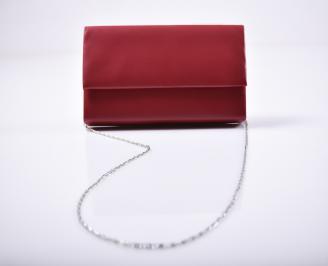 Абитуриентска чанта еко кожа  червена