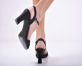 Дамски елегантни сандали  черни 3
