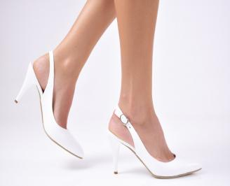 Дамски  елегантни сандали бели