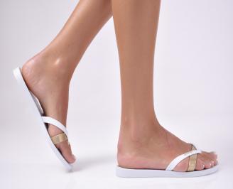 Дамски чехли  IPANEMA силикон  бели