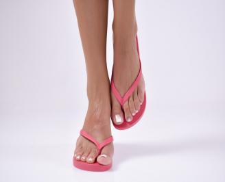 Дамски чехли  розови