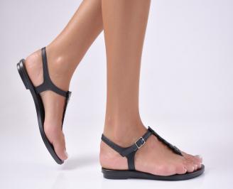 Дамски равни IPANEMA сандали черни 3