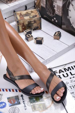 Дамски равни  IPANEMA сандали черни