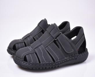 Мъжки сандали  черни