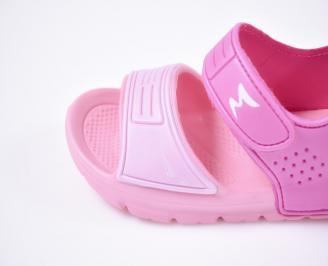Детски сандали  розови