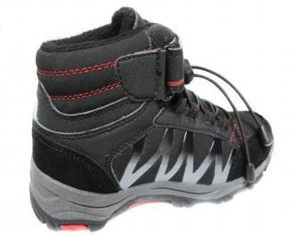 Детски обувки Bulldozer черни еко кожа 3