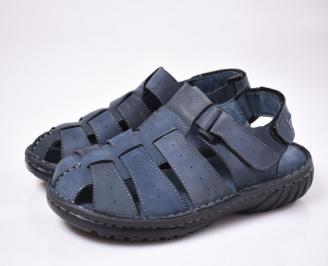Мъжки сандали  сини