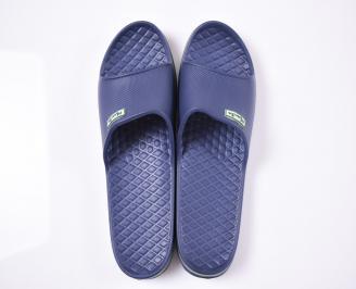 Мъжки джапанки силикон сини
