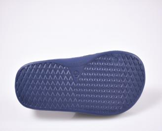 Юношески джапанки силикон сини