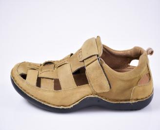 Мъжки сандали бежови