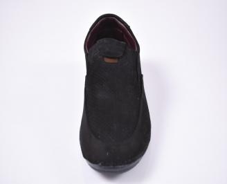 Мъжки спортно елегантни обувки  черни