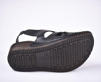 Дамски сандали Гигант  черни