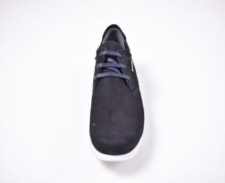 Мъжки спортно елегантни обувки  сини