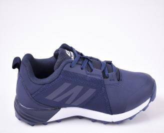 Юношески  маратонки  сини 3