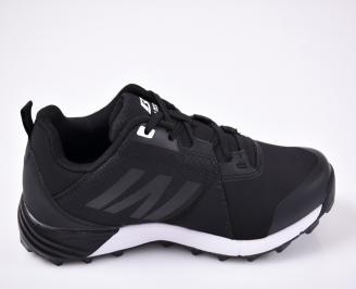 Юношески  маратонки черни 3