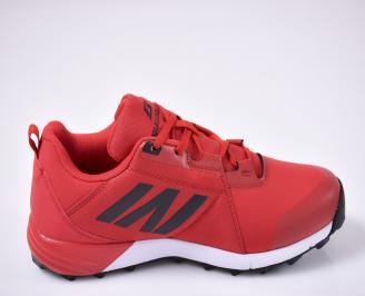 Мъжки маратонки  червени