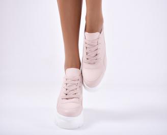 Дамски спортни  обувки  розови