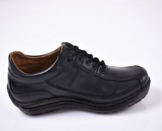 Мъжки  обувки естествена кожа черни 3