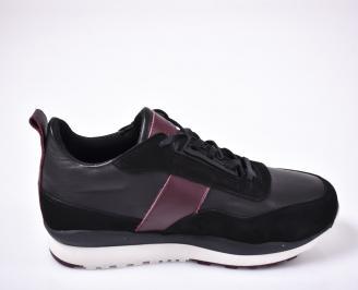 Мъжки обувки  черни 3