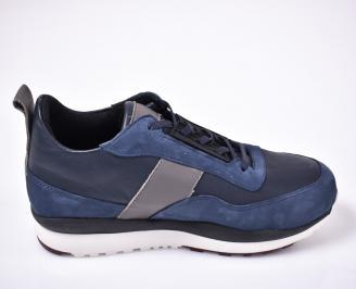 Мъжки обувки сини