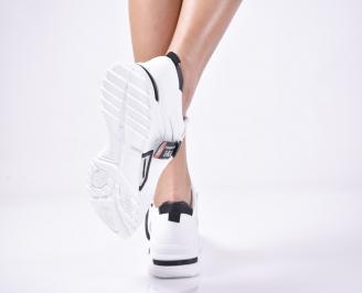 Дамски спортни  обувки  бели 3