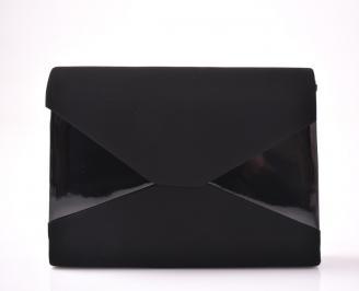 Абитуриентска чанта еко набук черен